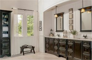 bathroom-cabinets-in- decatur-ga-black-shiny-vanity