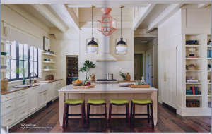 kitchen-cabinets-in- decatur-ga-cream-kitchen-blush-island-lime-seat cushions